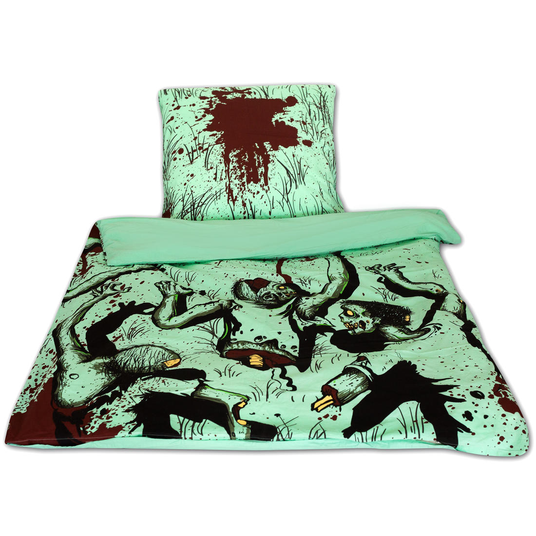 zombie bedlinnen getdigital. Black Bedroom Furniture Sets. Home Design Ideas