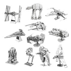 Star Wars 3D Metalen Platensets
