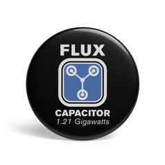 Geek Pin Flux Capacitor
