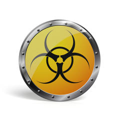 Geek Pin Biohazard