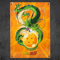Dragon Ball Z Tin Sign