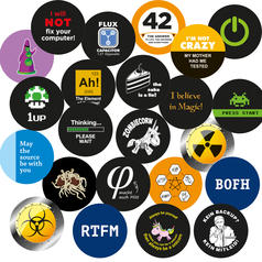 Geek Sticker Bundle