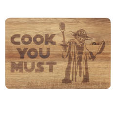 Wooden Cutting Board Cook You Must