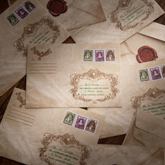 Owl Post Envelopes