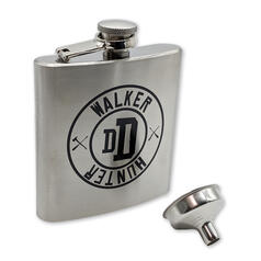 The Walking Dead Hip Flask