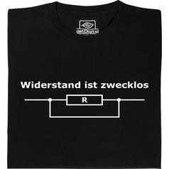 Weerstand is zinloos T-Shirt