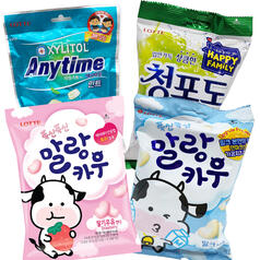 Lotte Bundle - 4 Types of Candy from Korea