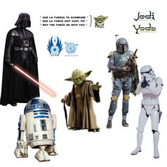 Star Wars Wall Sticker