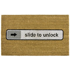 Deurmat Slide to Unlock