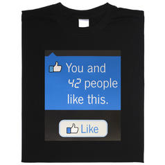 Levendig Facebook t-shirt