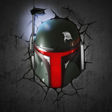 star wars wall lamp boba fett getdigital. Black Bedroom Furniture Sets. Home Design Ideas