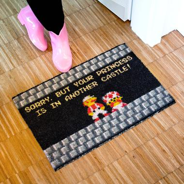 Doormat Your Princess is in Another Castle