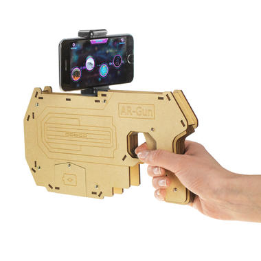 AR Gun for Augmented Reality Smartphone Games