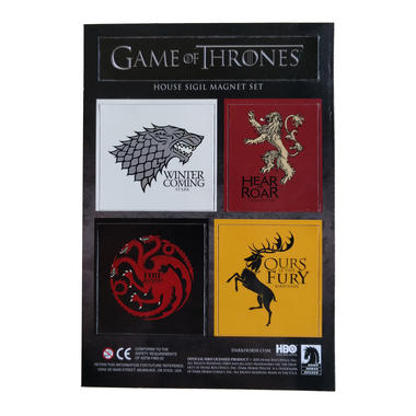 Game of Thrones House Sigil Magnets